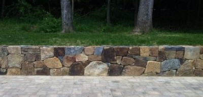 WALLS, SITTING WALLS & STONE VENEER  in Mendham, NJ